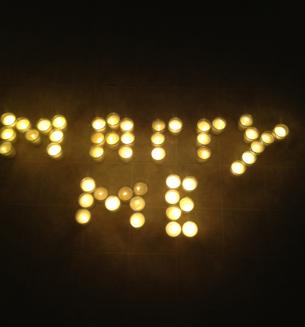 Candlelight proposal