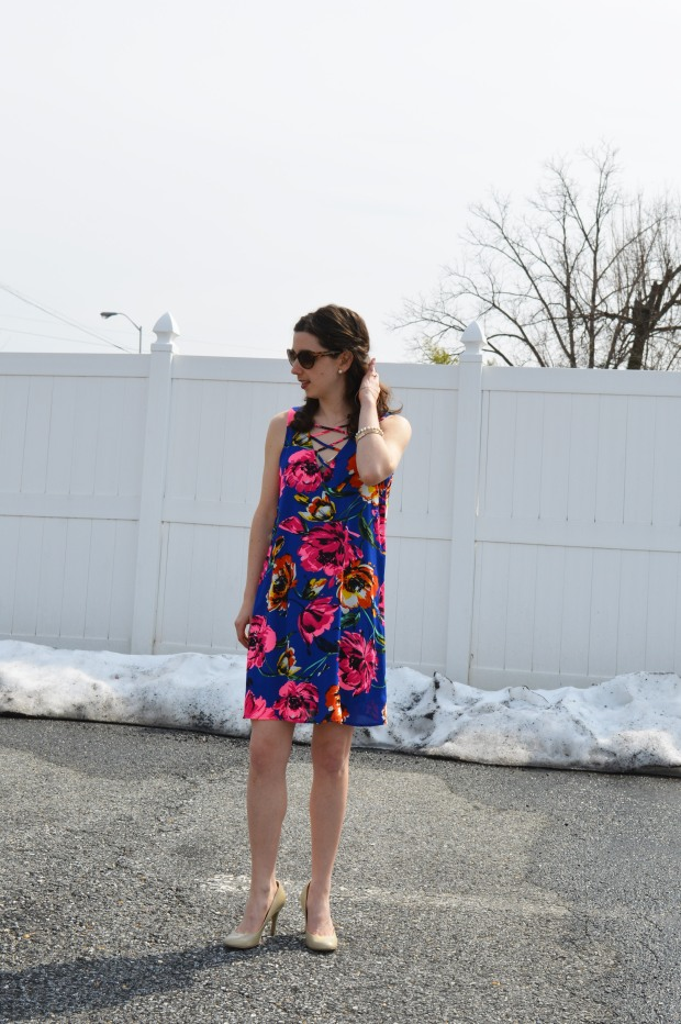 Lace-Up Dress | Hunting for Pink Flamingos